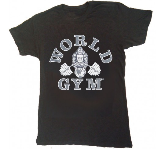 World Gym Muscle Shirt Burnout Tee